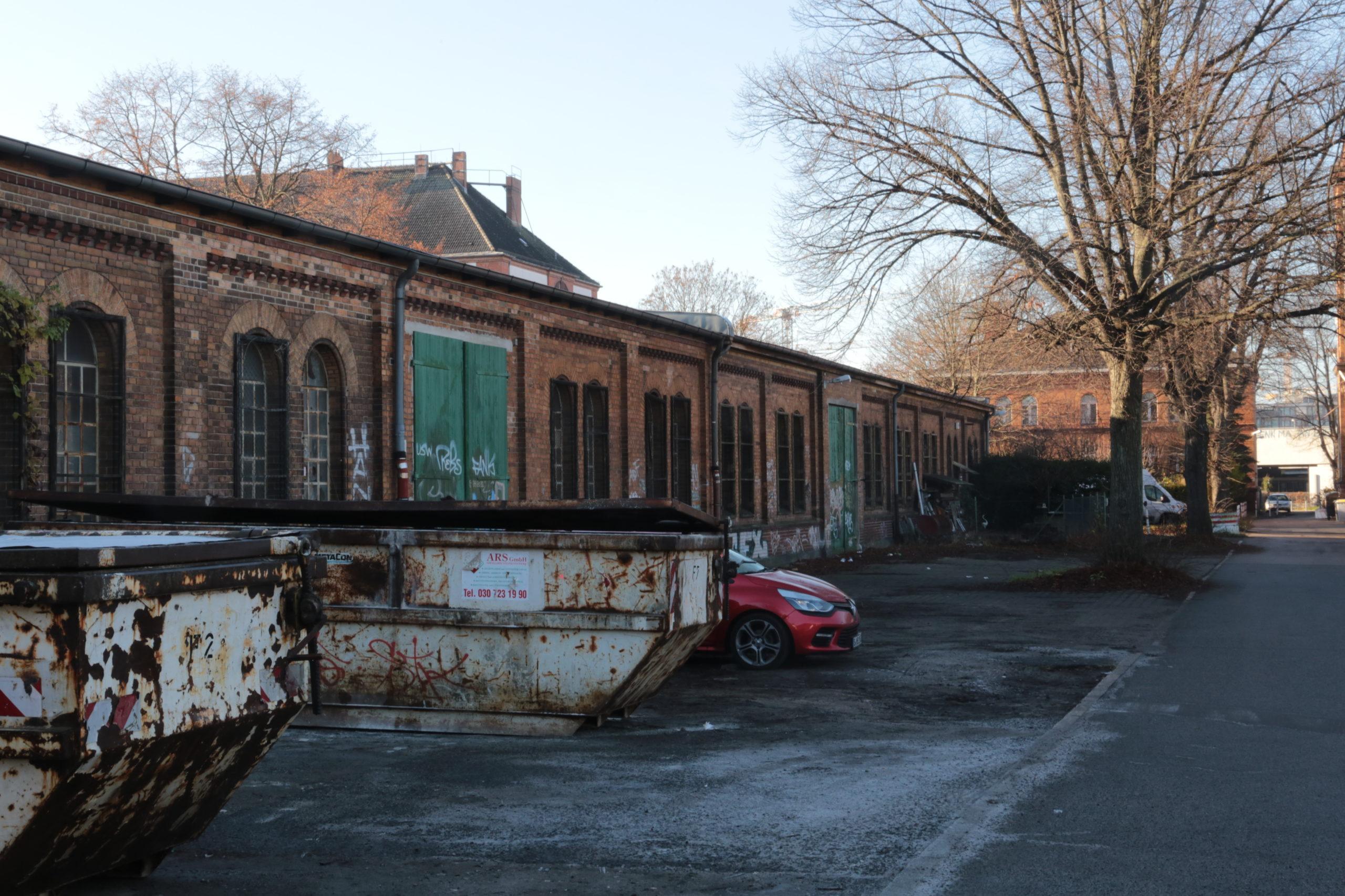 Die ehemaligen Kasernen an der Papestraße